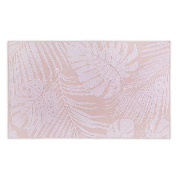 Полотенце пляжное LEAVES JACQUARD HAMAM - коралловый, 100180