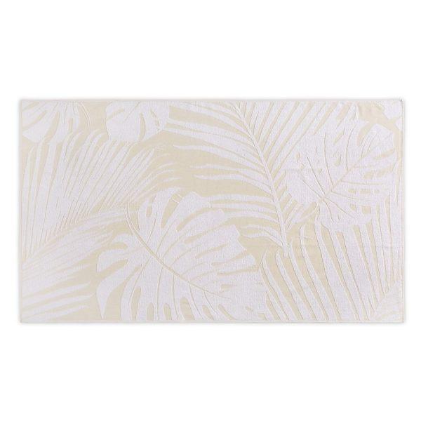 Полотенце пляжное LEAVES JACQUARD HAMAM - пшеничный, 100180