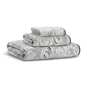 Полотенце DAMASK YARN DYED CASUAL AVENUE - слоновая-кость-светло-серый, 3333