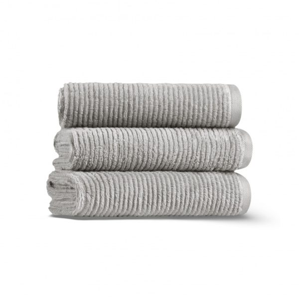 Полотенце SLIM RIBBED CASUAL AVENUE - светло-серый, 3333