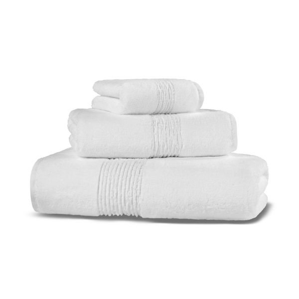 Полотенце GALATA ORGANIC HAMAM - белый, 100150
