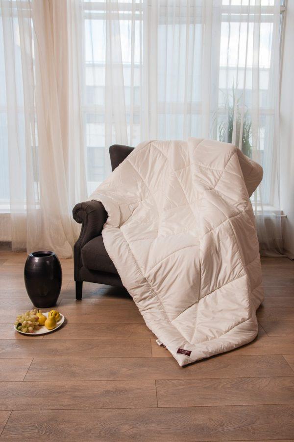 2 12 Одеяло стеганое CASHMERE WOOL GRASS