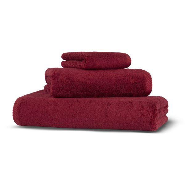 Полотенце GLAM HAMAM - красный, 100150
