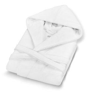 Халат с капюшоном CHICAGO CASUAL AVENUE - белый, l-xl