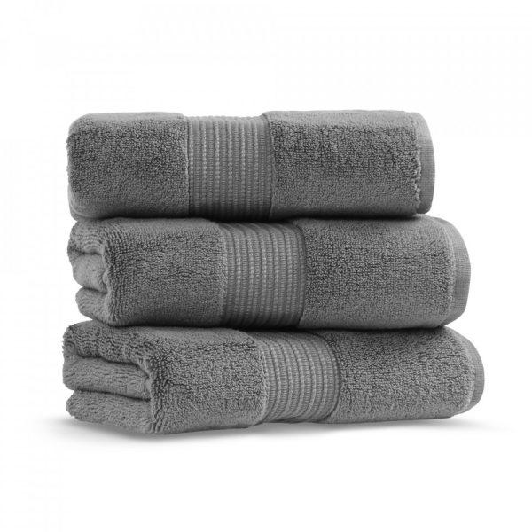 chicago towel 50x90 dark gray grup 2