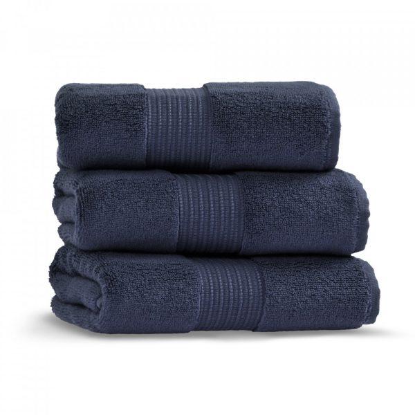 chicago towel 50x90 deep blue grup 2