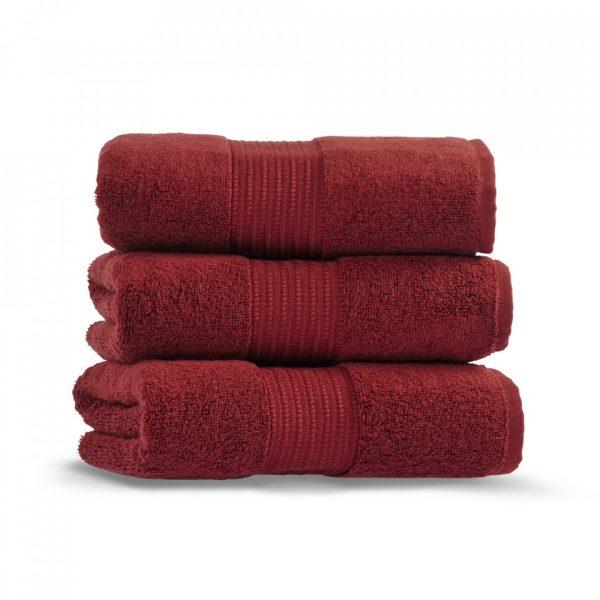 chicago towel 50x90 red wine grup 2