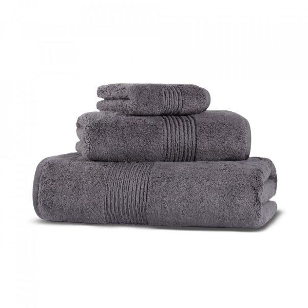 hamam galata organic hand towel charcoal grup 4