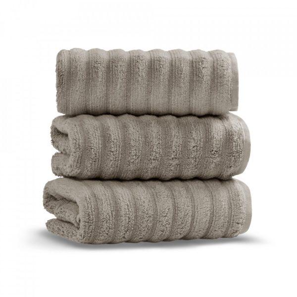 keywest hand towel warm gray grup