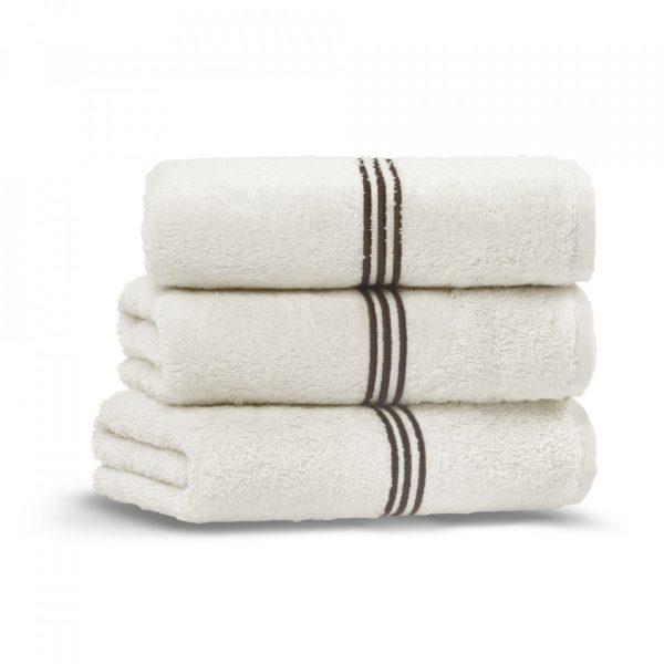 toscana hand towel ivory chocolate grup 1