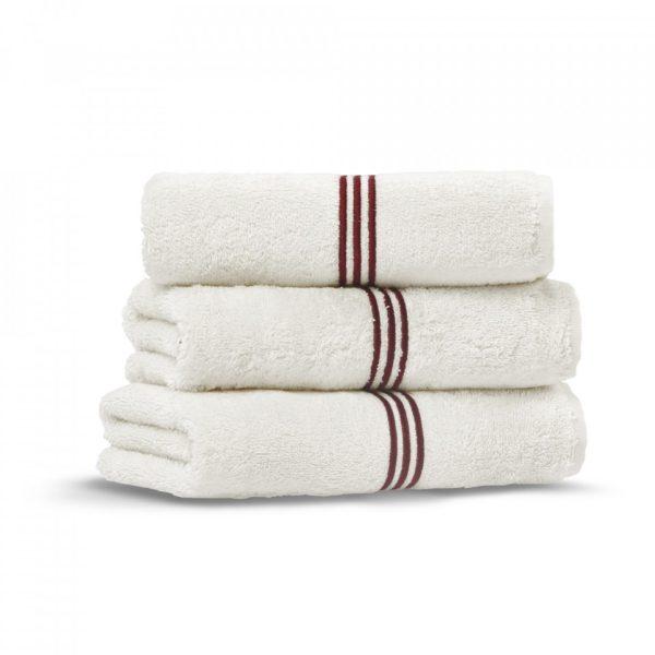 toscana hand towel ivory red wine grup 3