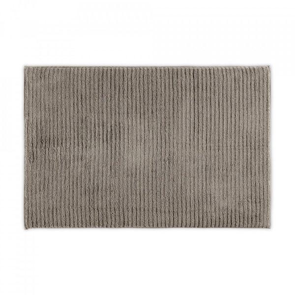 wavy organic cotton bath mat vapour 2