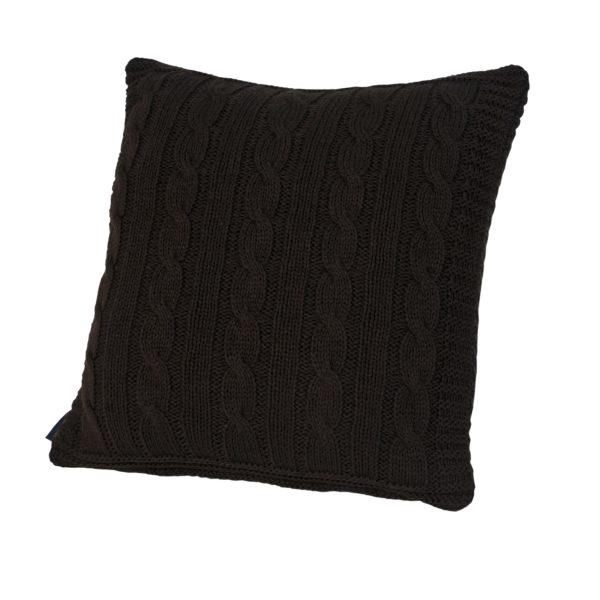 Декоративная подушка BOSTON CASUAL AVENUE - шоколад, 40x40