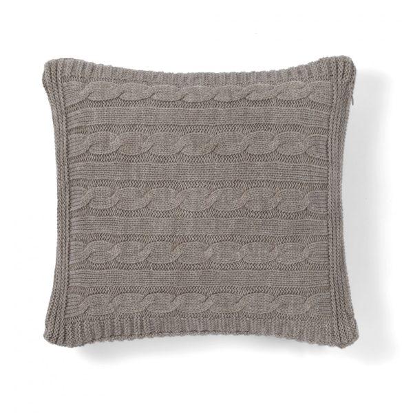 Декоративная подушка BOSTON CASUAL AVENUE - коричневый, 40x40