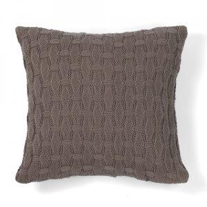 Декоративная подушка PONTE VECCHIO CASUAL AVENUE - коричневый, 40x40