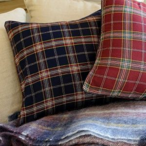 Декоративная подушка SIGNATURE CASUAL AVENUE - темно-синий, 45x45