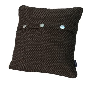 Декоративная подушка FRESNO CASUAL AVENUE - шоколад, 40x40