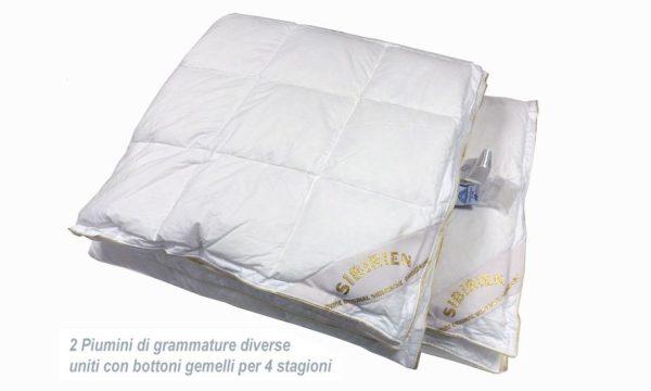 Одеяло теплое пуховое SIBERIANO DAUNEX